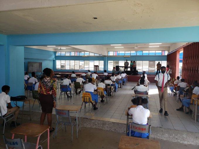 Jamaica students