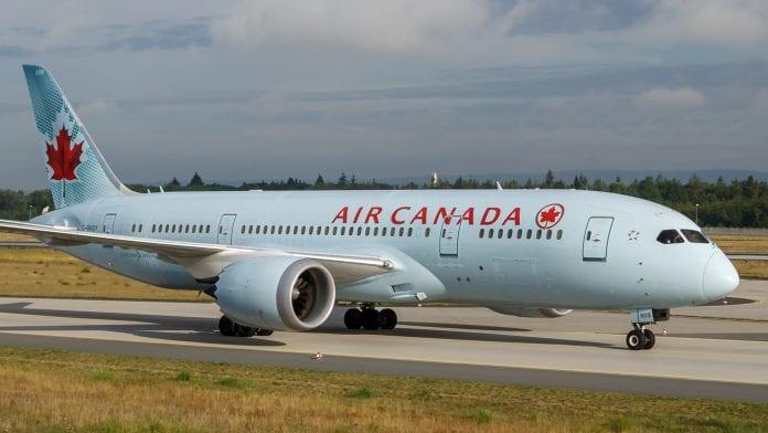 Air Canada _travel ban