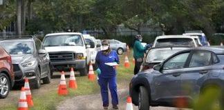Miami, Florida vaccination site