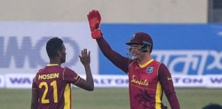 west Indies Akeal Hosein