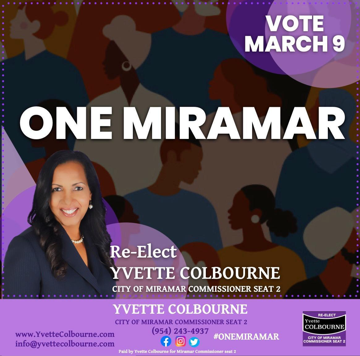 Vote For Yvette Colbourne