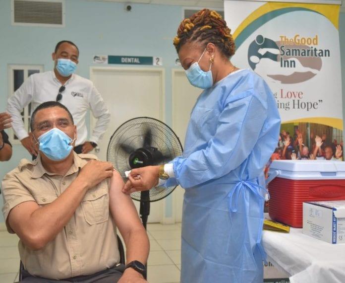 Andrew Holness vaccine