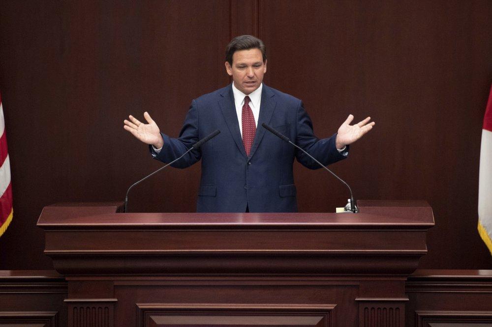 Florida desantis speech