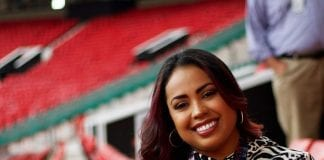 ALEXIS NUNES - JAMAICAN ESPN REPORTER