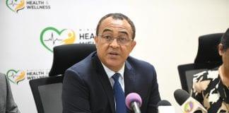 Jamaica dr-chris-tufton-pres-conf-covid