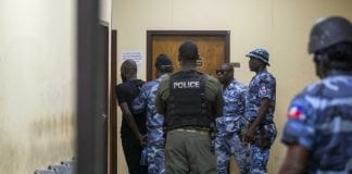 haiti prison break