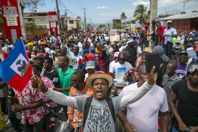 haiti protest 1