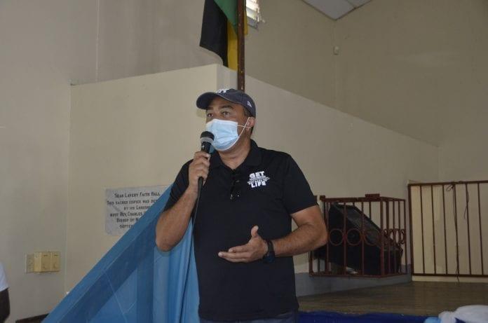 Jamaica chris tufton health
