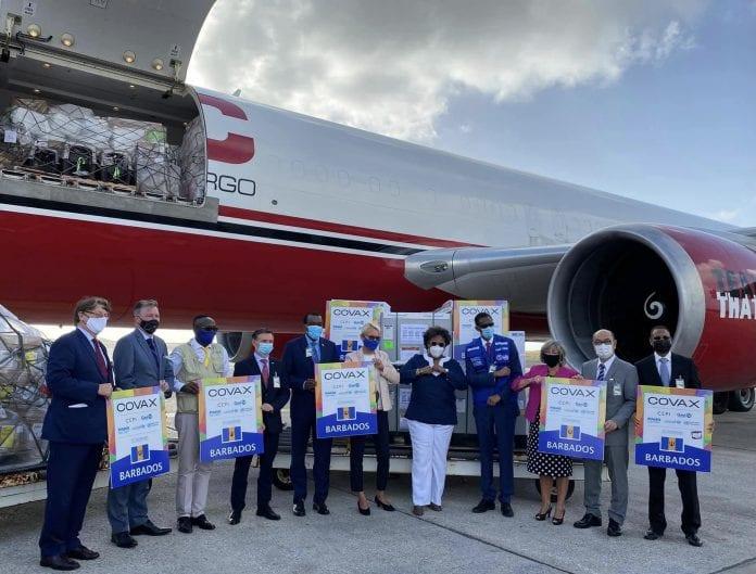 caribbean airlines barbados vaccines