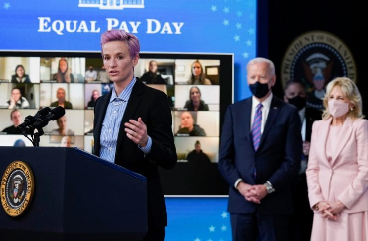 equal pay biden