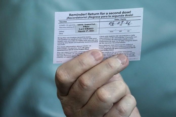 florida vaccine card