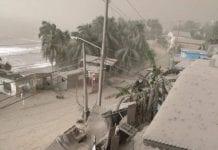 st vincent volcano ash