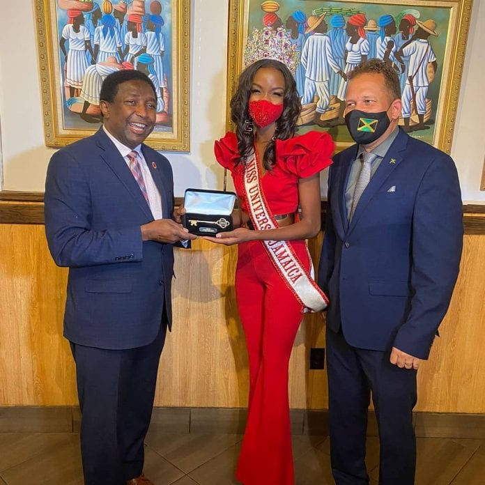 Miss Universe Jamaica 2020