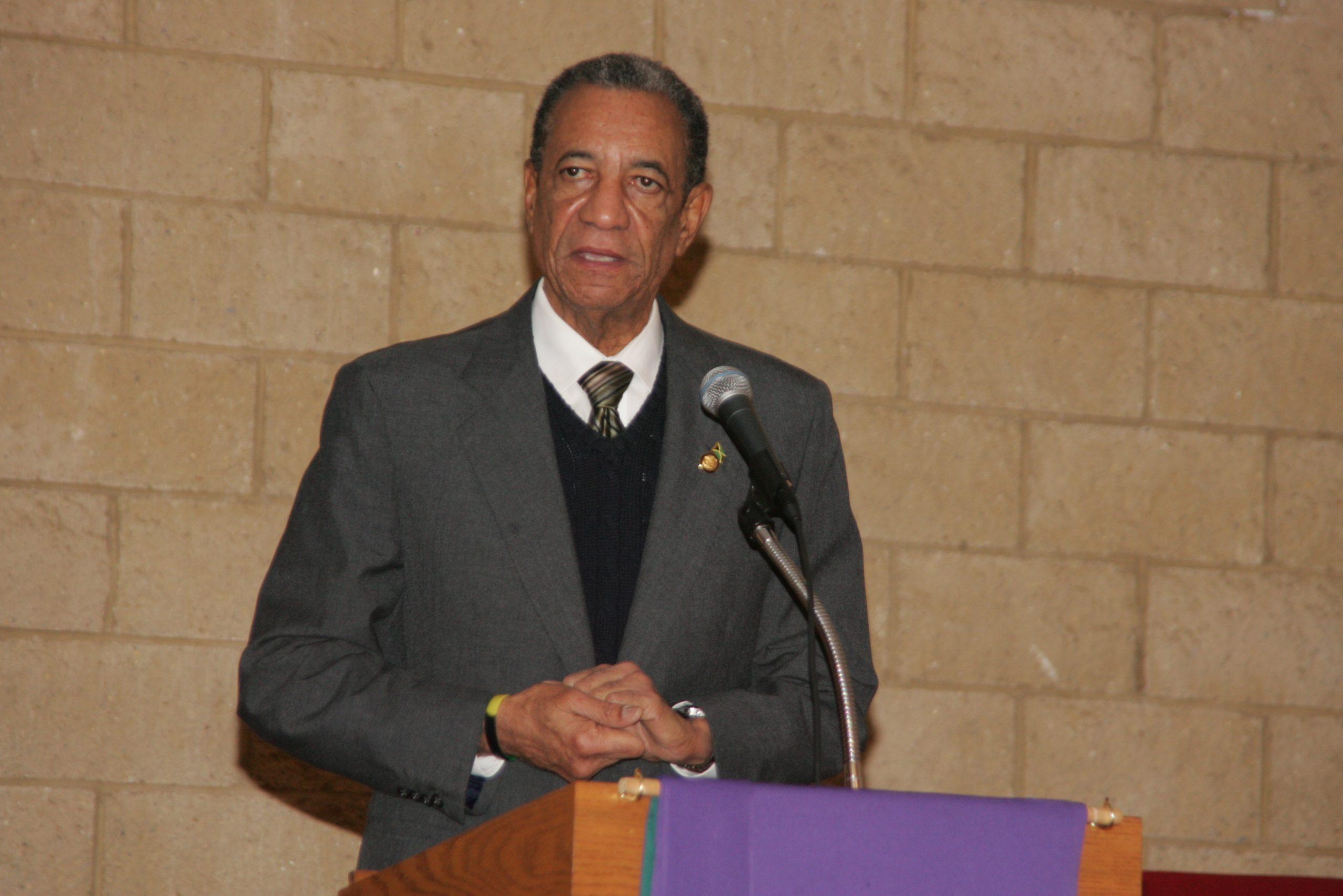 Jamaica Ambassador Anthony Johnson