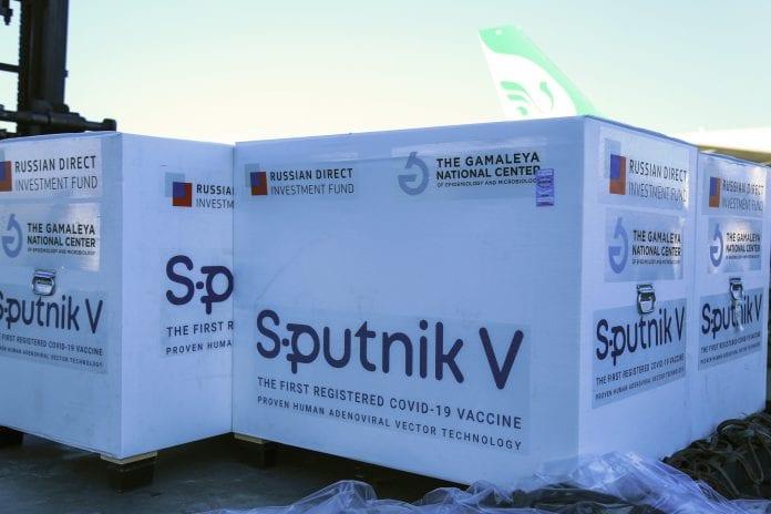 sputnik v vaccine guyana