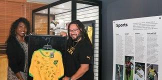 Reggae Girlz Signed Jersey Island Space Museum_6_2021