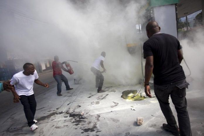 haitians protest