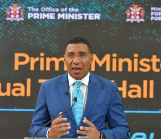 prime minister andrew holness