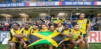 Jamaica's rugby team