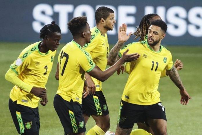 reggae boyz Jamaica