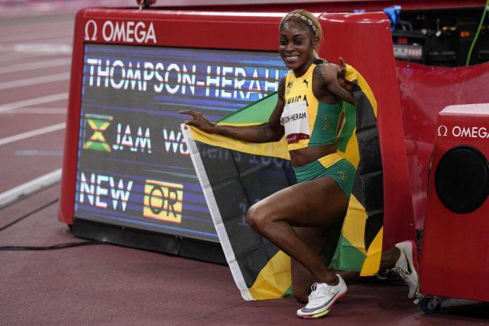 elaine thompson-herah Jamaica