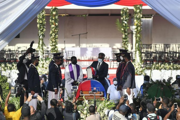haiti moise funeral 2