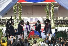 haitian moise funeral