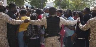 Haiti suspect
