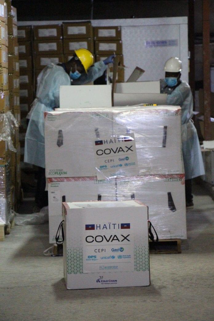 haiti vaccines covax