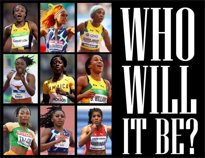 2021 prefontaine women 100m