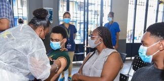 Jamaicans vaccinated
