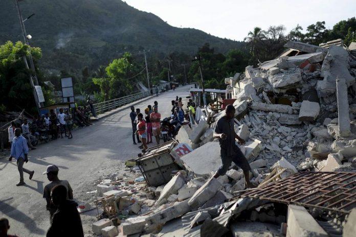 haiti earthquake ap