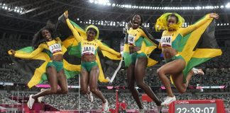 jamaican olympic relay