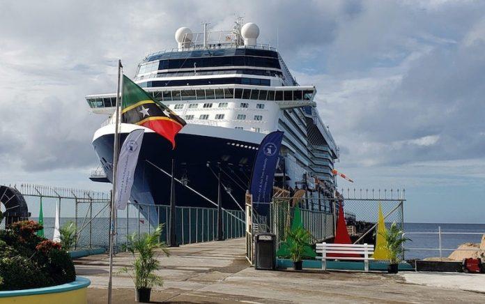 St Kitts cruise ship