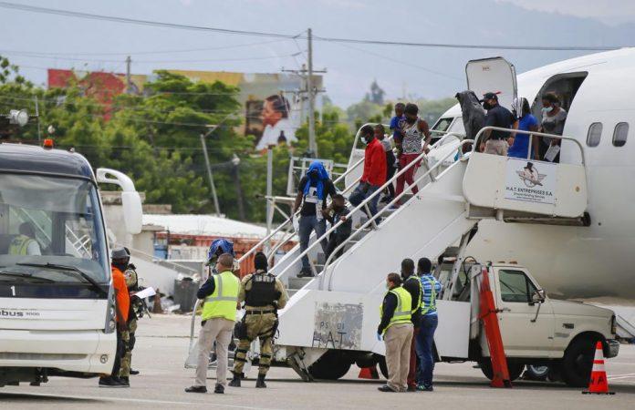 haitians deported