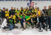 Jamaica's senior hockey team