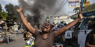 haiti protest gang