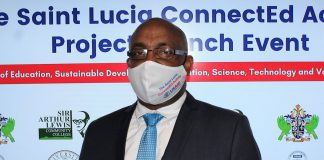 st lucia education minister